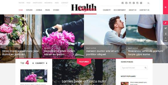 HealthMag - Multipurpose News/Magazine Joomla Template