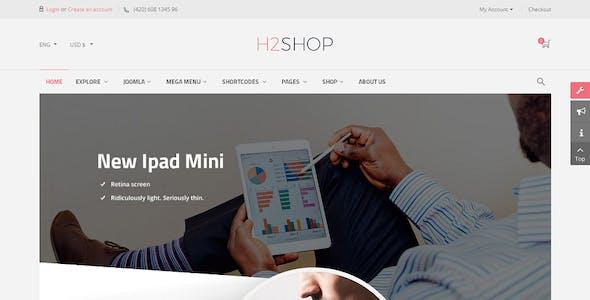 H2shop - Responsive Multipurpose VirtueMart Theme