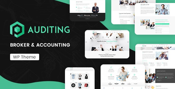Auditing | Accounting Consultant, Finance WordPress Theme - Business Corporate