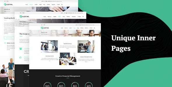 Auditing | Accounting Consultant, Finance WordPress Theme