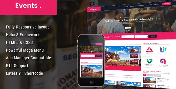 Event - Conference Joomla Template