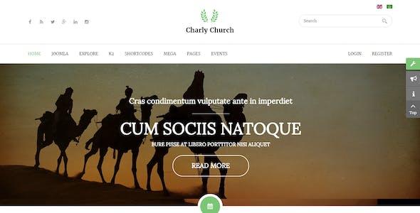 Charly - Responsive Church/Religious Joomla Theme