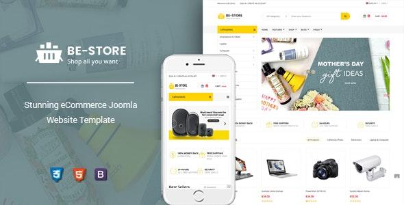 BeStore - Multipurpose Joomla eCommerce Template - VirtueMart Joomla