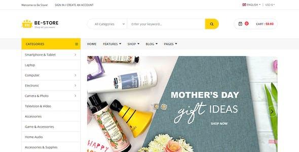 BeStore - Multipurpose Joomla eCommerce Template
