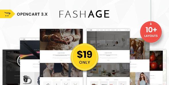 Fashage - Responsive Opencart 3.0 Theme - OpenCart eCommerce