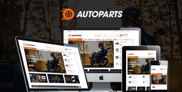 Autoparts - Multipurpose Responsive VirtueMart 3 Template