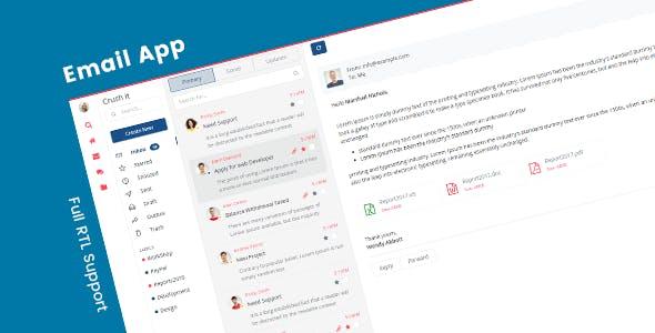 Crush it - Bootstrap Admin Application Template & Ui Kit
