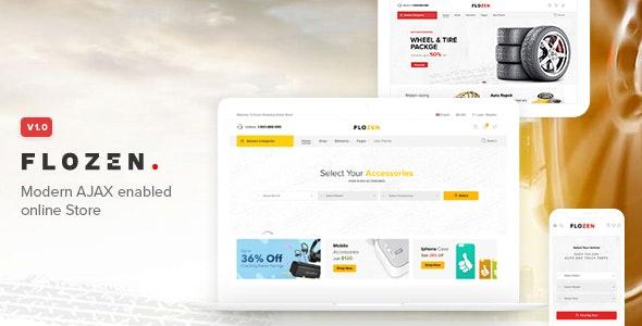 Flozen - WooCommerce AJAX WordPress Theme - WooCommerce eCommerce