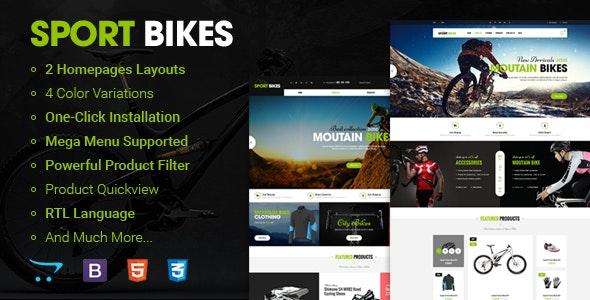 Sportbike - Premium Responsive OpenCart Theme - Shopping OpenCart