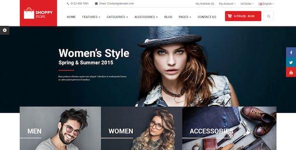 ShoppyStore - Responsive Multipurpose Marketplace OpenCart 3 and 2.x Theme