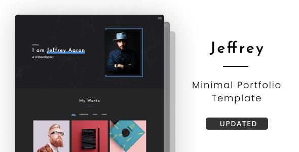 Jeffrey - Personal Portfolio Template