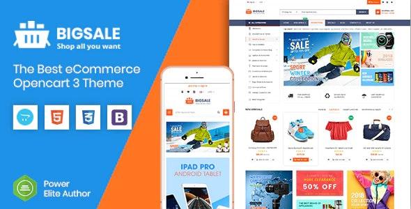 BigSale - The Multipurpose Responsive SuperMarket Opencart 3 Theme ( 6 Designs Ready!) - OpenCart eCommerce