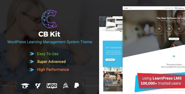 Course & LMS WordPress Theme | CBKit - Education WordPress