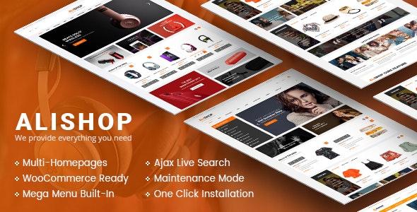 AliShop - Multipurpose WooCommerce WordPress Theme - WooCommerce eCommerce