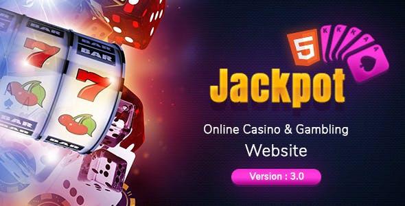 Jackpot - Casino & Gambling HTML Template