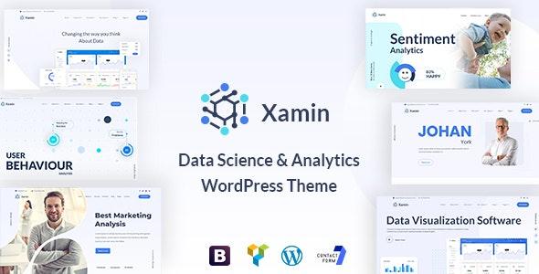Xamin - Data Science & Analytics WordPress Theme - Technology WordPress