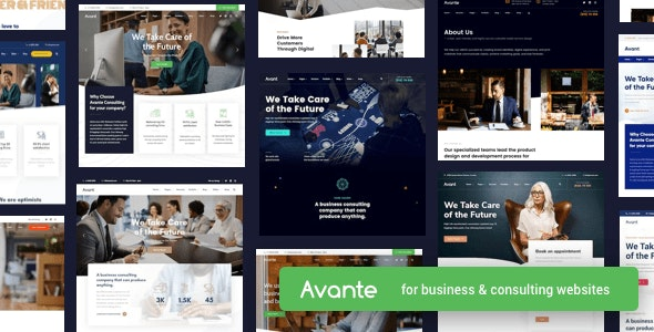 Avante | Business Consulting WordPress - Business Corporate