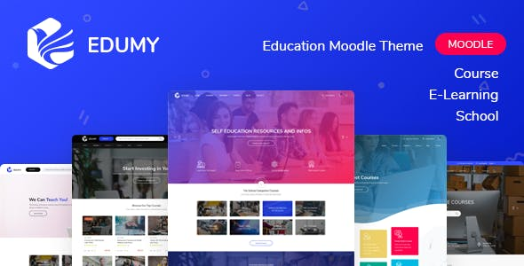 Download Edumy - Premium Moodle LMS Theme