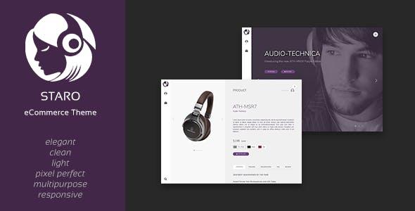 Staro - Multipurpose HTML Shop Template