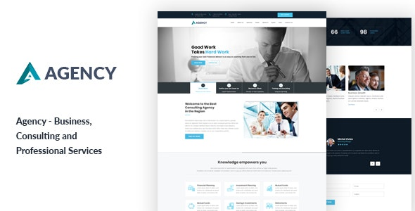 Agency - Business Consultancy HTML Template - Creative Site Templates