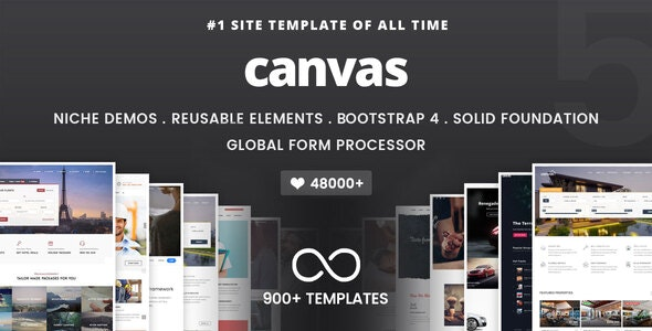 Canvas | The Multi-Purpose HTML5 Template - Corporate Site Templates