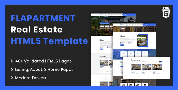 Flapartment | Real Estate Listing HTML5 Template - Business Corporate