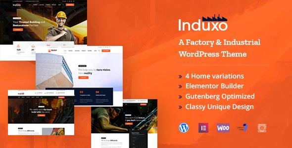 Induxo - Industry WordPress Theme - Business Corporate