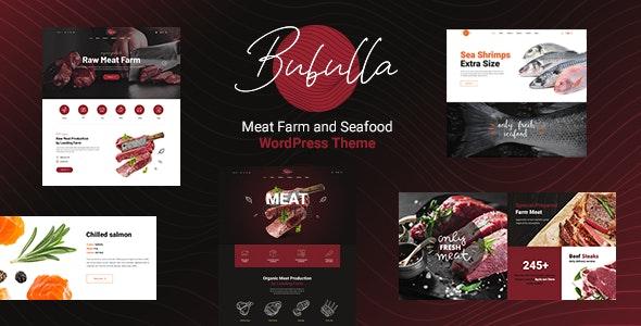 Bubulla - Meat Farm & Seafood Store WordPress Theme - Food Retail