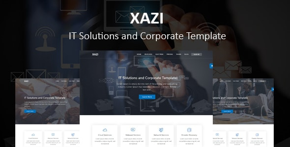 Xazi - IT Solutions and Corporate - Business Corporate