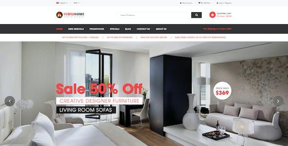 FurniHome - Furniture Shop WordPress WooCommerce Theme
