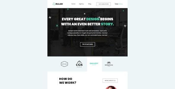 Ruler - Responsive Email + Online Template Builder