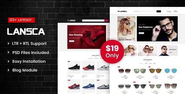 Lansca - Multipurpose Prestashop 1.7 Responsive Theme - Shopping PrestaShop