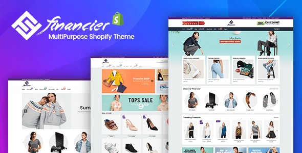 Financier - Multipurpose Responsive Shopify Theme - Fashion Shopify