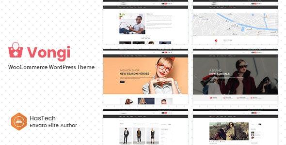 Vongi - WooCommerce WordPress Theme - WooCommerce eCommerce