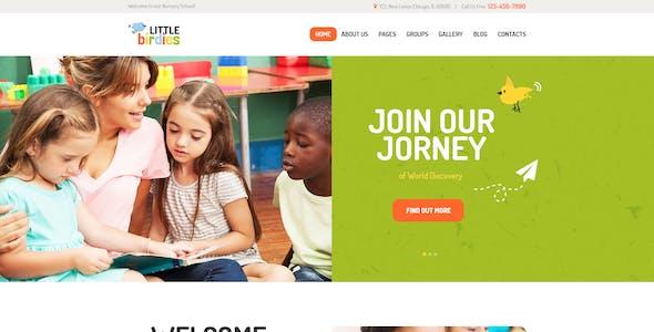 Little Birdies | Multipurpose Children PSD Template