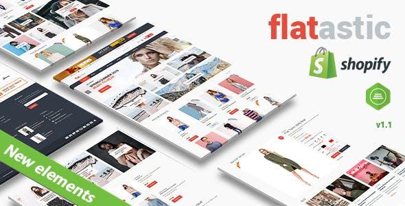 Flatastic - Fashion Shopify Theme