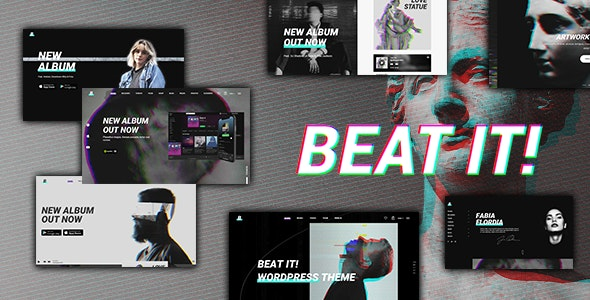 Beatit - A Modern Music WordPress Theme - Music and Bands Entertainment