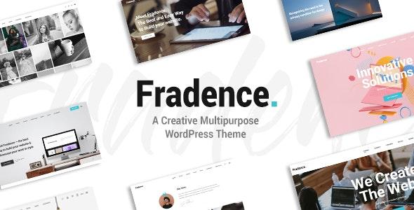 Fradence - A Creative Multipurpose WordPress Theme - Portfolio Creative