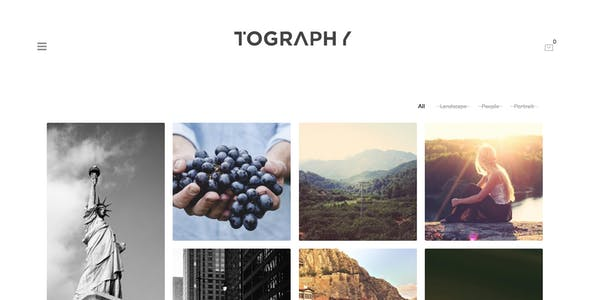 Tography - Photography Theme