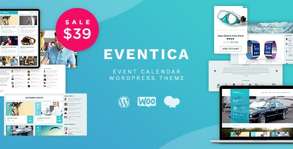 Eventica - Event Calendar & Ecommerce WordPress Theme - eCommerce WordPress