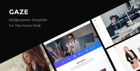 Gaze | Premium Multipurpose HTML Template