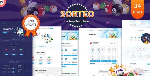 Sorteo – Lotto HTML Template