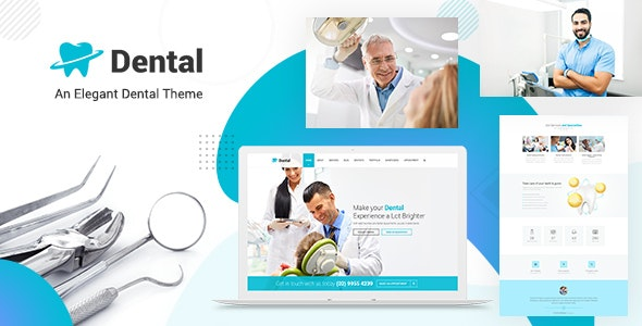 Dental Clinic - Dentist WordPress Theme - Health & Beauty Retail