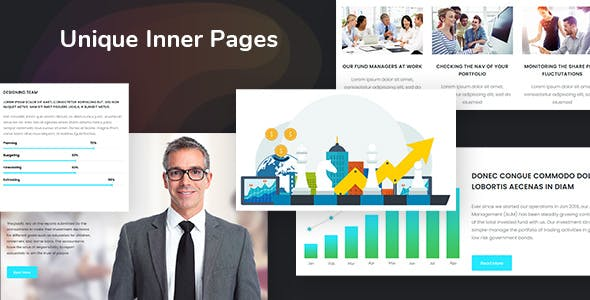 Finance Consultant - Consulting WordPress Theme