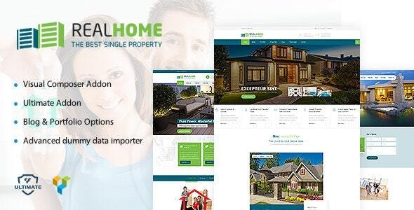 Single Property Theme - Real Estate WordPress