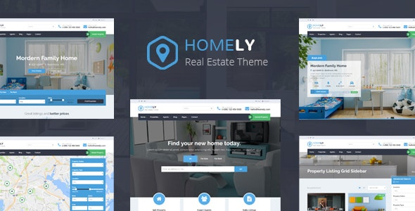 Homely - Real Estate WordPress Theme - Real Estate WordPress