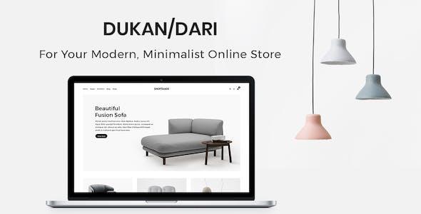Dukandari - A Modern, Minimalist eCommerce Theme