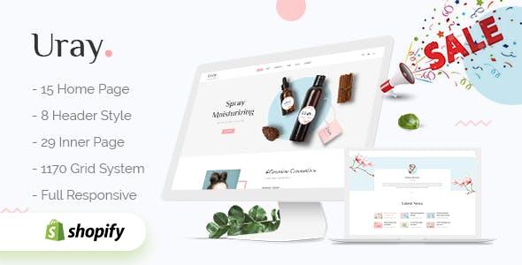 Uray - Fashion, Furniture, Cosmetic & Beauty  Shopify Theme