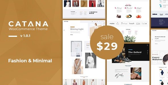 Catana - Fashion & Minimal WooCommerce WordPress Theme - WooCommerce eCommerce