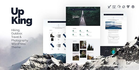 Upking - Hiking Club WordPress Theme by themeton